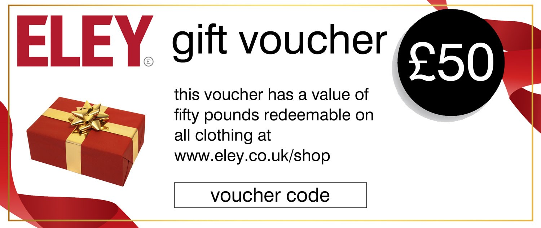 £50 ELEY gift voucher