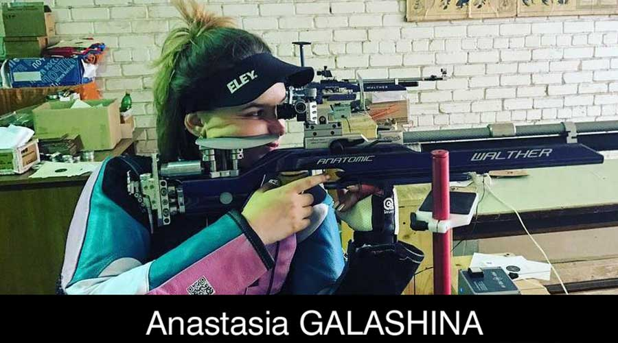 Anastasia Galashina ELEY sponsored shooter