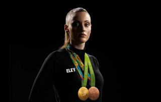 First female Olympic torch bearer - Anna Korakaki