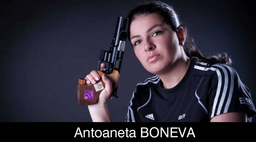 Antoaneta Boneva ELEY sponsored shooter
