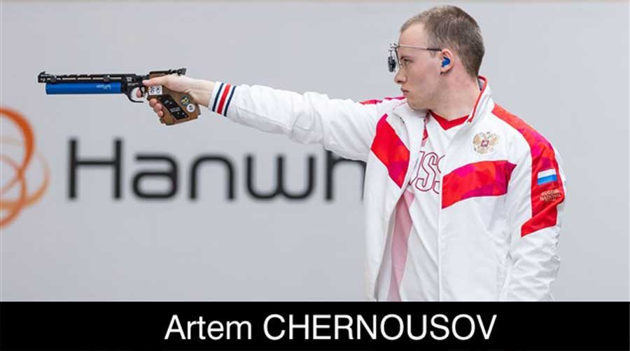Artem Chernousov ELEY sponsored shooter