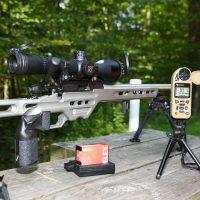 Equipment for long range .22LR shooting