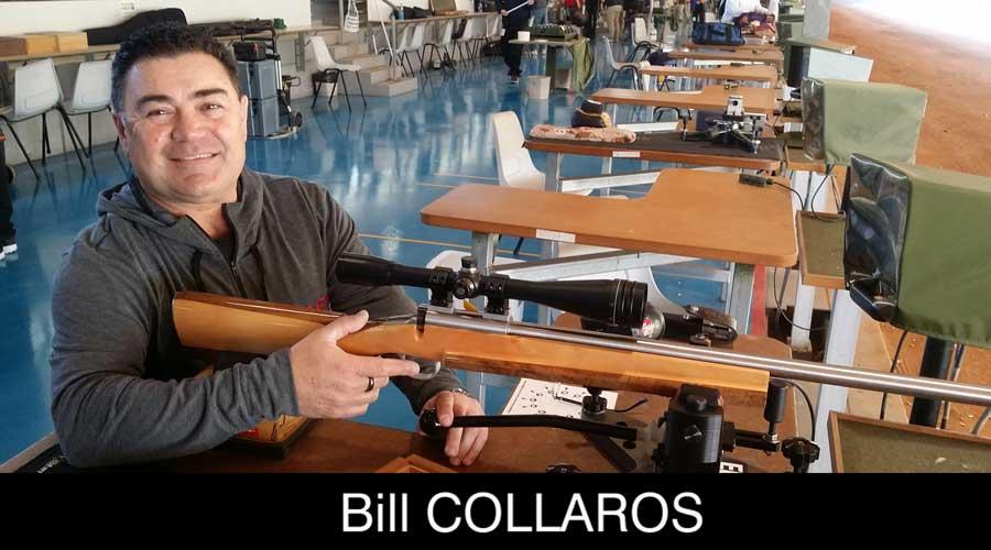 Bill Collaros ELEY sponsored shooter