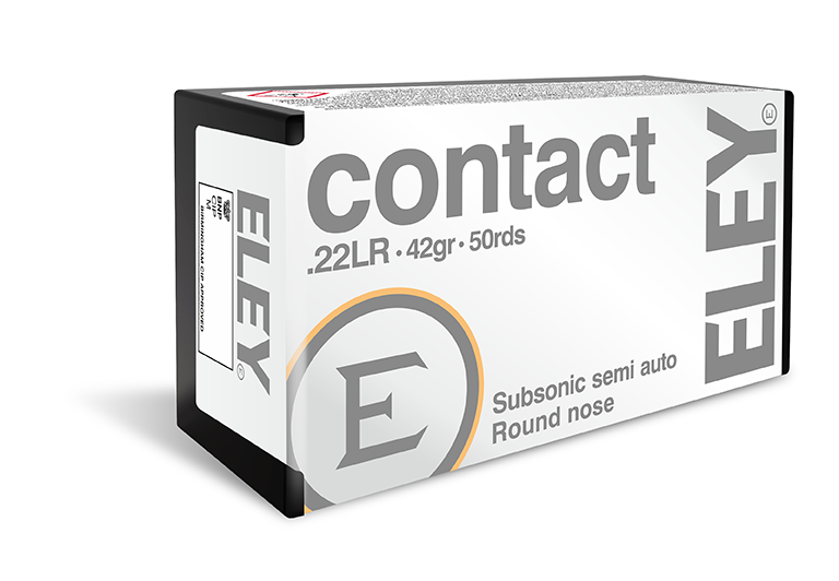 ELEY contact - The world's most accurate .22LR recreational ammunition