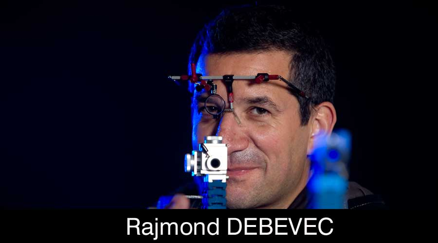 Rajmond Debevec ELEY sponsored shooter