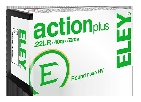 ELEY action plus .22LR recreational ammunition