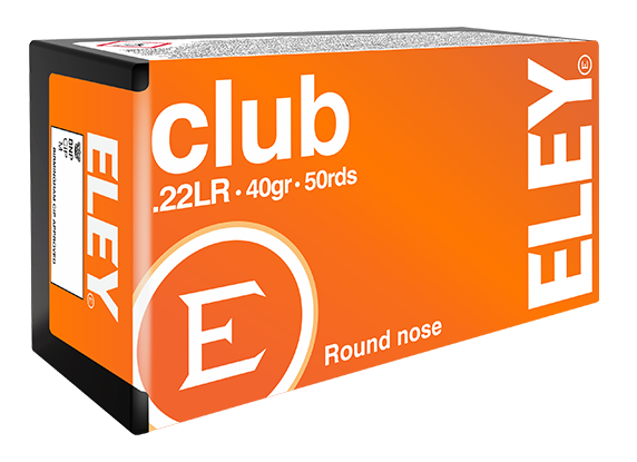 ELEY club .22LR benchrest rifle ammunition