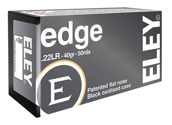 ELEY edge .22LR benchrest rifle ammunition