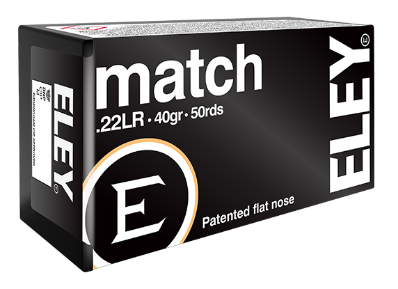 ELEY match .22LR benchrest rifle ammunition