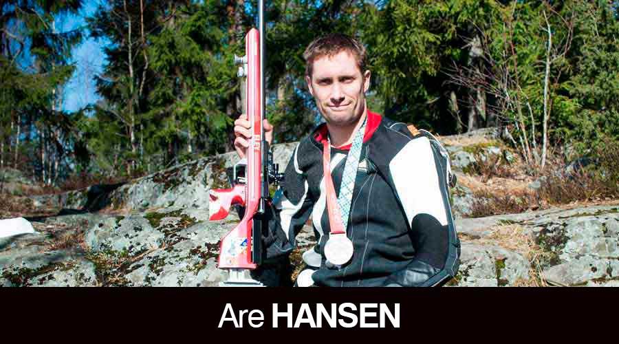 Are Hansen ELEY sponsored shooter