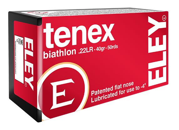 ELEY tenex biathlon .22LR biathlon ammunition