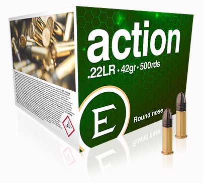 NEW ELEY action 500 round bulk pack