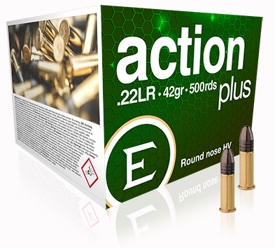 ELEY action plus 500 bulk pack - The world's most accurate .22LR ammunition