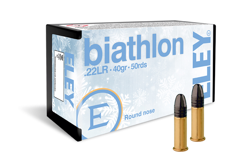 ELEY biathlon club 22lr ammunition - The world's most accurate biathlon ammunition