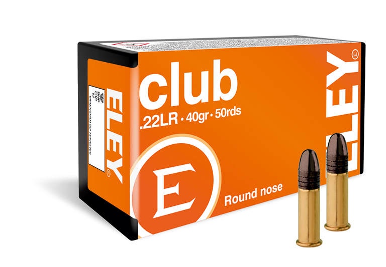 ELEY club 22lr ammunition - The world's most accurate .22LR ammunition