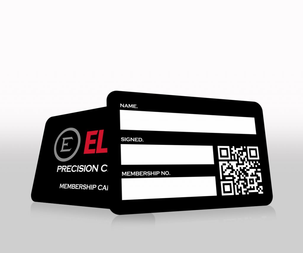 ELEY precision club membership card