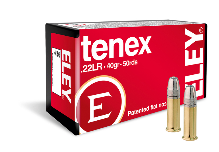 ELEY tenex 22lr ammunition - The world's most accurate .22LR rifle ammunition