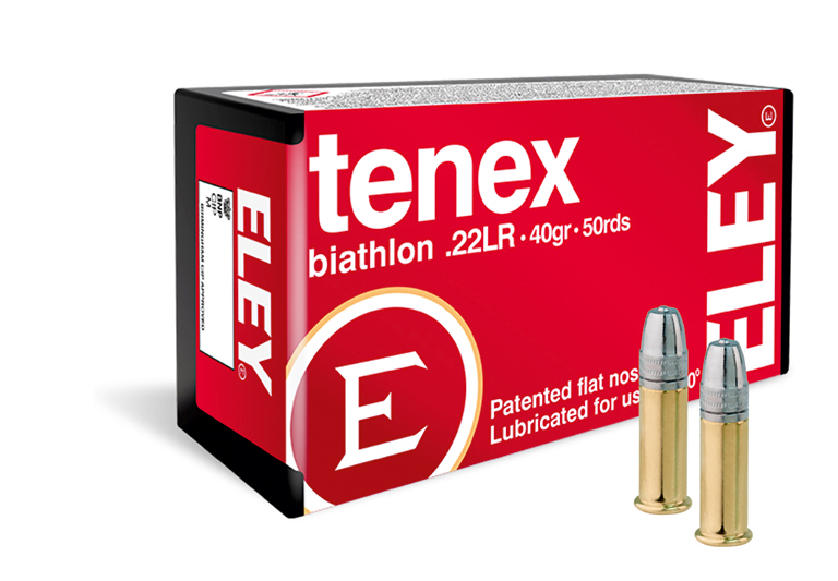 ELEY tenex biathlon 22lr ammunition - The world's most accurate biathlon ammunition