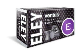 ELEY ventus 4.51 .177 air pellets