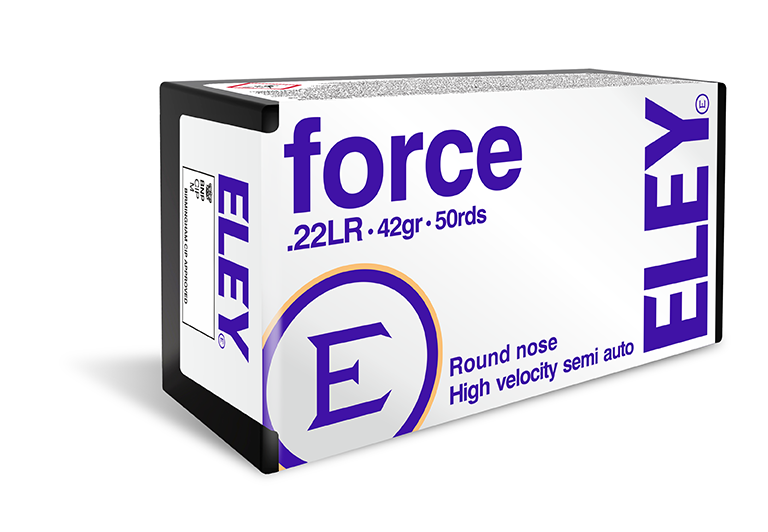 ELEY force - The world's most accurate .22LR recreational ammunition