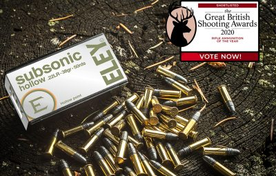 Great British Shooting Awards nomination 2020