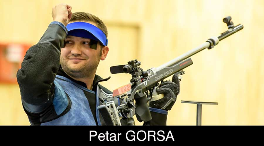 Petar Gorsa ELEY sponsored shooter