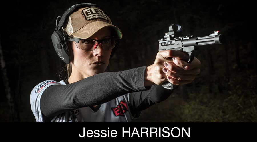 Jessie Harrison ELEY sponsored shooter