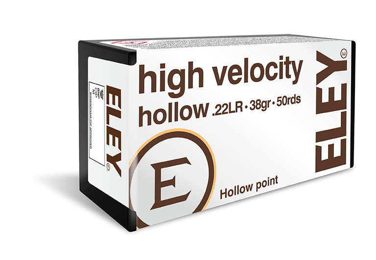 ELEY high velocity hollow - The world's most accurate .22LR hunting ammunition