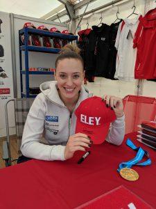 Anna Korakaki ELEY cap giveaway