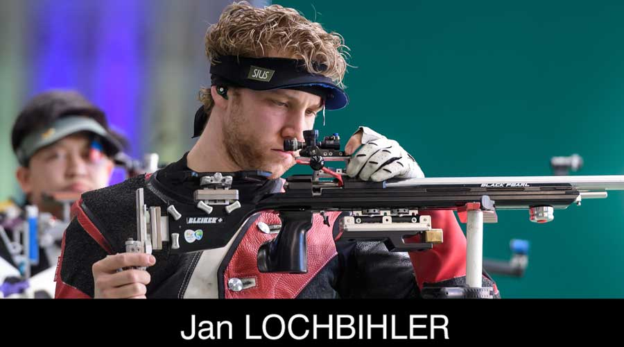 Jan Lochbihler ELEY sponsored shooter