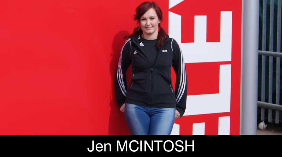 Jen Mcintosh ELEY sponsored shooter