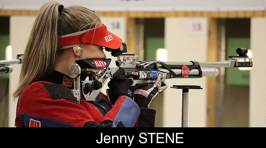 Jenny Stene ELEY sponsored shooter