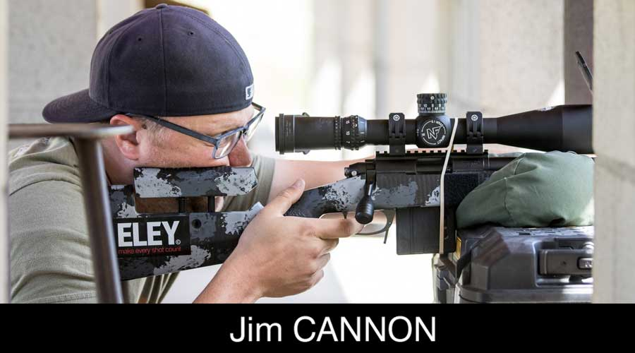 Jim Cannon ELEY sponsored shooter