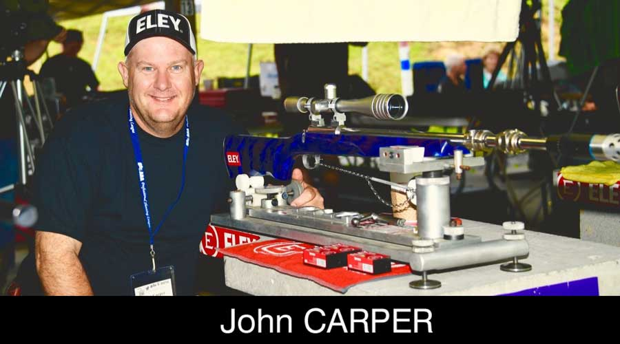 John Carper ELEY sponsored shooter