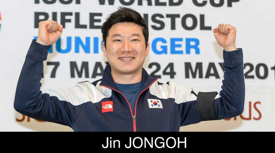 Jin Jongon ELEY sponsored shooter