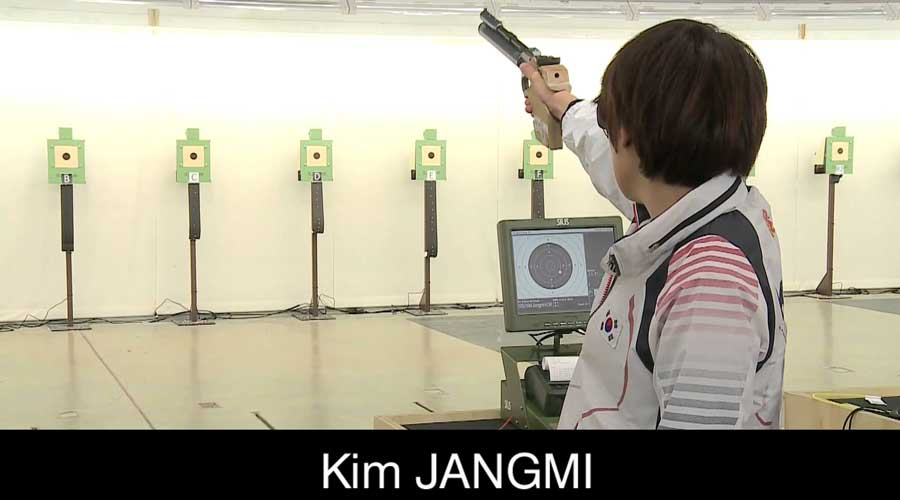 Kim Jangmi ELEY sponsored shooter