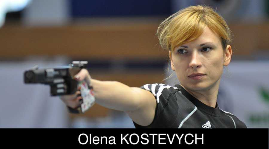 Olena Kostevych ELEY sponsored shooter
