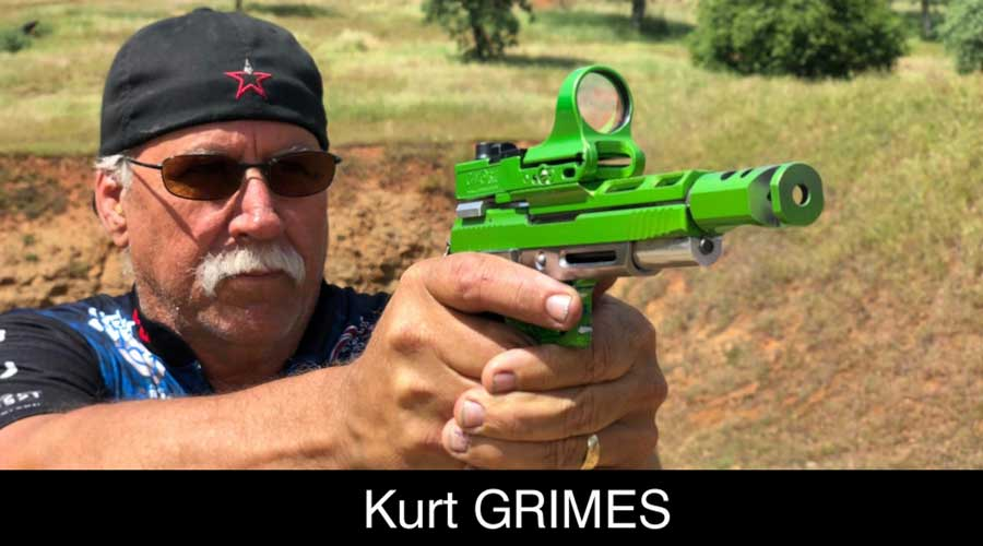 Kurt Grimes ELEY sponsored shooter