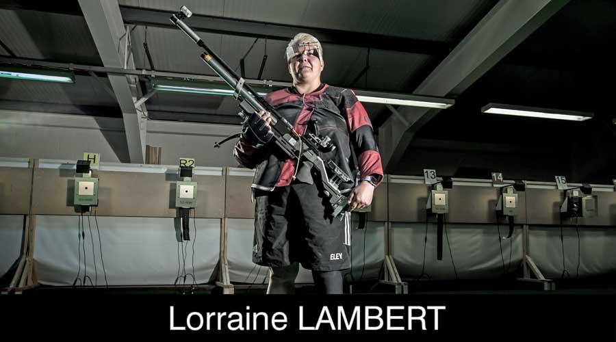 Lorraine Lambert ELEY sponsored shooter
