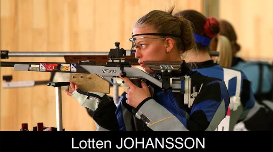 Lotten Johansson ELEY sponsored shooter