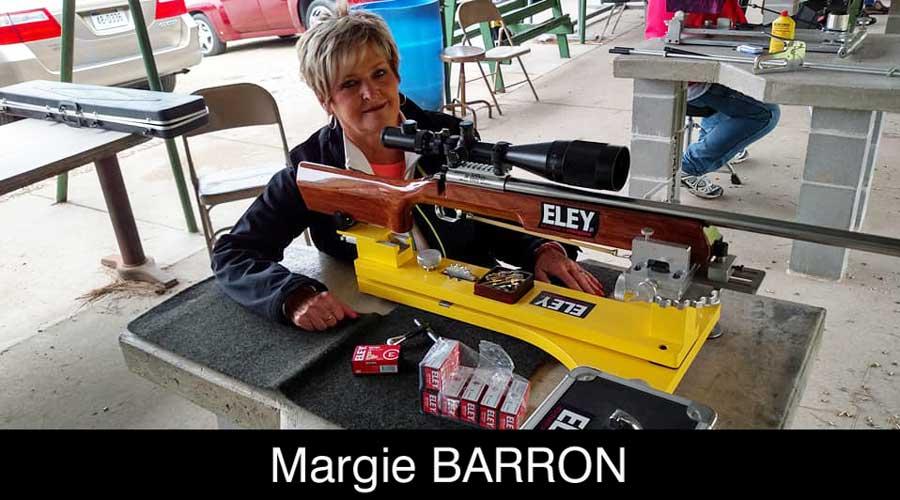 Marjorie Barron ELEY sponsored shooter