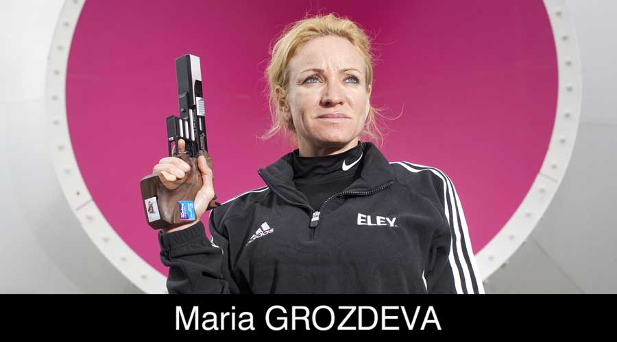 Maria Grozdeva ELEY sponsored shooter