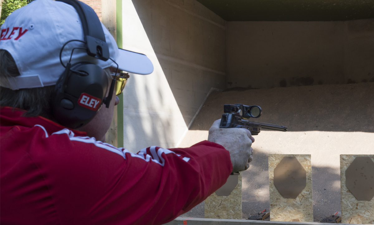 Mark Derbyshire Practical Pistol Shooter