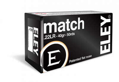 Match .22LR ammunition