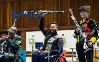Matt Skelhon win - World Shooting Para Championships