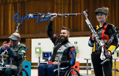 Matt Skelhon win - World Shooting Para Championships