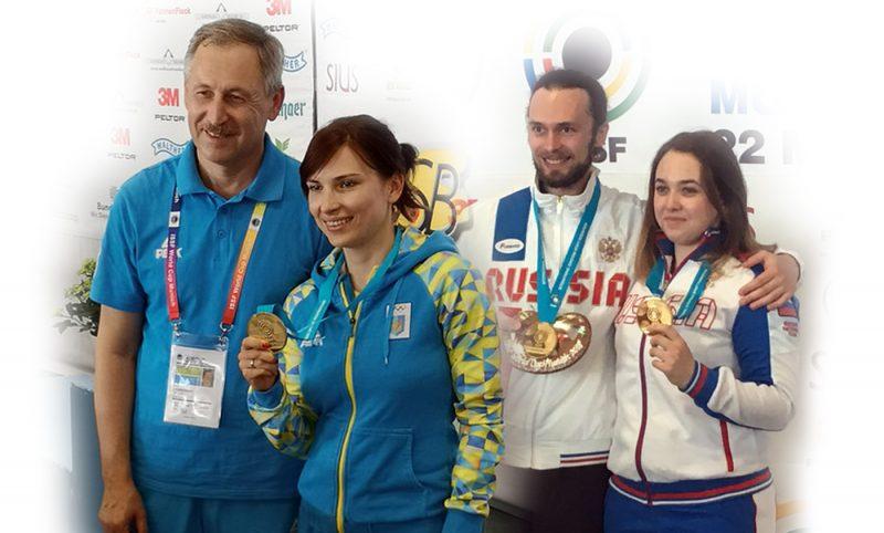 Munich 2018 ISSF World Cup medalists