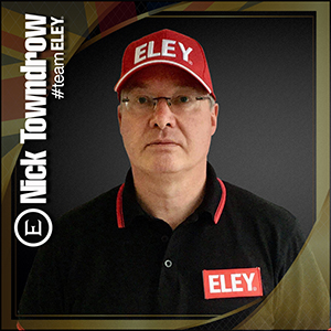 Nick Towndrow ELEY sponsored athlete