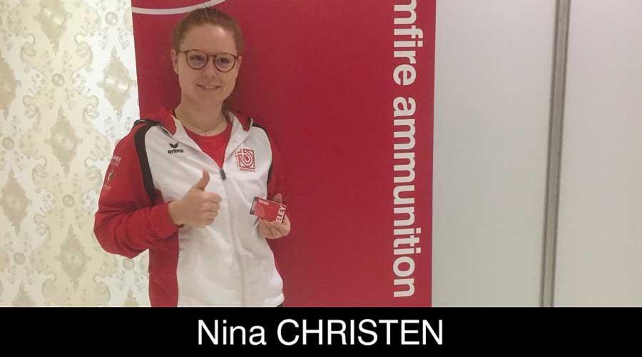 Nina Christen ELEY sponsored shooter