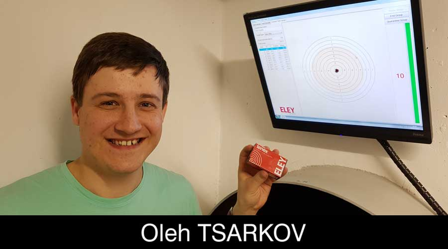 Oleh Tsarkov ELEY sponsored shooter
